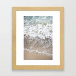 malibu lookdown Framed Art Print