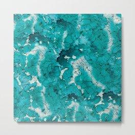 Blue depths Metal Print