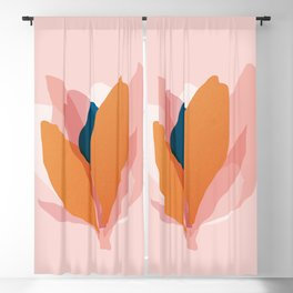 Abstraction_Floral_Blossom Blackout Curtain