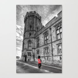Windsor Castle Coldstream Guard Canvas Print