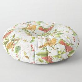 Magnolia/ Birds Floor Pillow