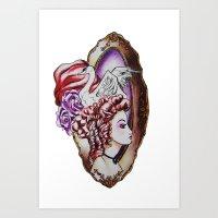 Strut Art Print
