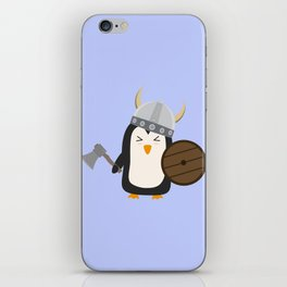 Penguin Viking   iPhone Skin