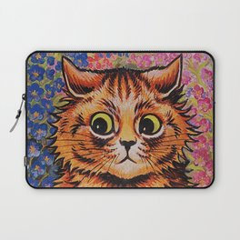 Cat and Her Kittens-Louis Wain Cats Laptop Sleeve