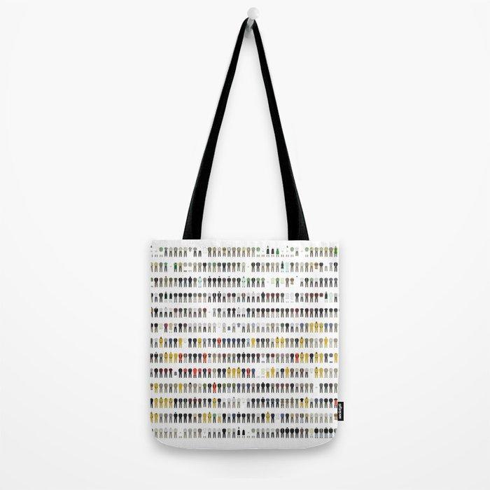 Walter White's Wardrobe - Complete Series Tote Bag