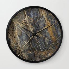 Natural Geological Pattern Rock Texture Wall Clock