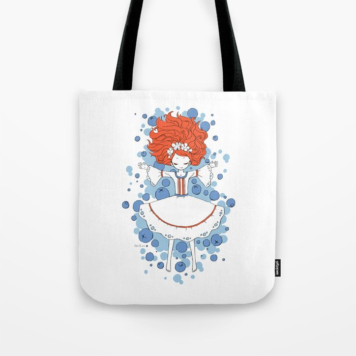 Blueberry Dream Tote Bag