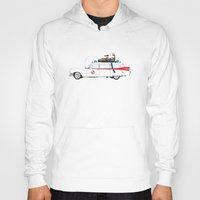 ghostbusters Hoodies featuring Ghostbusters - Car by V.L4B