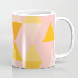 Triangles in Soft Pastels Coffee Mug