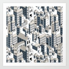 city ii Art Print