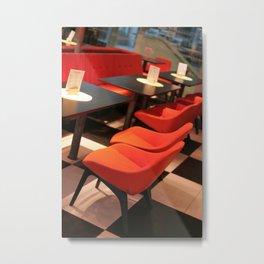 Lounge Metal Print