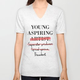 Young Aspiring Artist parody shirt F*** Old Navy Unisex V-Neck
