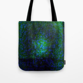 Abstract blue and green Tote Bag