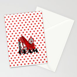 Glam Fashion Stationery Cards