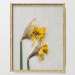 Daffodil 2 Serving Tray