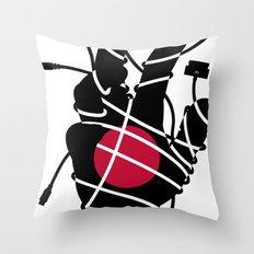 Culture Shock - H Throw Pillow