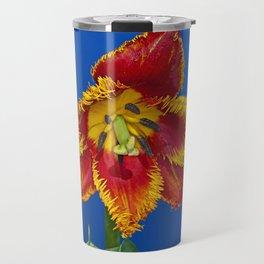Flower tulip terry in spring Travel Mug