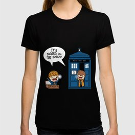 Doctor Who - It's Biggers on the inside T-shirt
