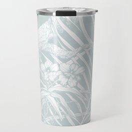 TROPIC ORCHID Bleu Travel Mug