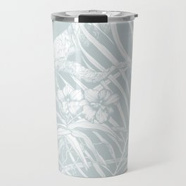 TROPIC ORCHID Bleu Travel Mug