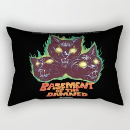 Basement Of The Damned Rectangular Pillow