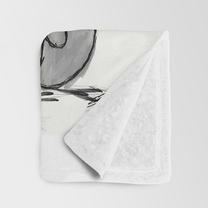 To be a Flying Penguin Throw Blanket