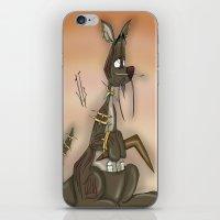 kangaroo iPhone & iPod Skins featuring Kangaroo by Jonathan Gehrke