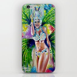 Carnival dance iPhone Skin