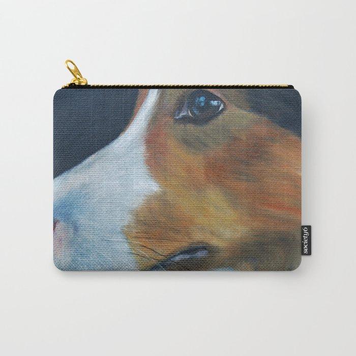 Sheltie Shetland Sheepdog Art Carry-All Pouch