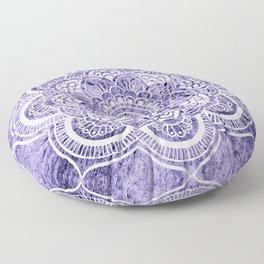 Mandala Lavender Colorburst Floor Pillow