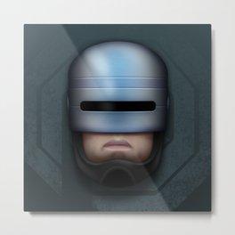 Icon Series 4: (Cyborgs 1/3) Alex Murphy AKA RoboCop Metal Print