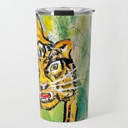 Tiger in th jungle Travel Mug