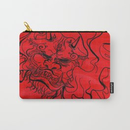 Red dog Carry-All Pouch