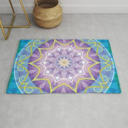 Mandalas from the Voice of Eternity 6 Rug