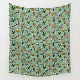 Tropical Fauna Wall Tapestry
