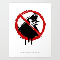Neighborhood Watch Art Print