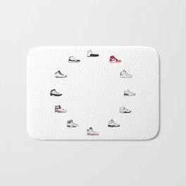 Air Jordan Series 1-12 Bath Mat