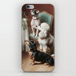 Christmas Dogs iPhone Skin