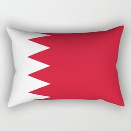 Flag Of Bahrain Rectangular Pillow