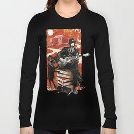 Delta Blues - Robert Johnson & Friends Long Sleeve T-shirt
