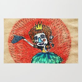 Ugly princess is looking for love Rug