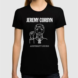 Jeremy Corbyn Austerity Sucks T-shirt