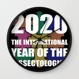 The International Year (2020) Of The Dissectologist Wall Clock