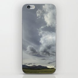 Landscape Photography   Waterton, Alberta   Clouds   Sunset iPhone Skin
