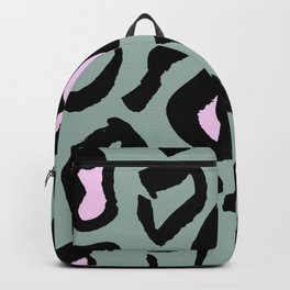 Pink panther print and pattern Backpack