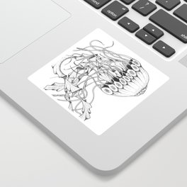 Jellyfish Sticker