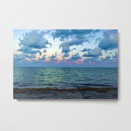Trippy Beach Metal Print