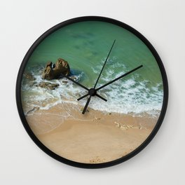 Sea Algarve Portugal Wall Clock