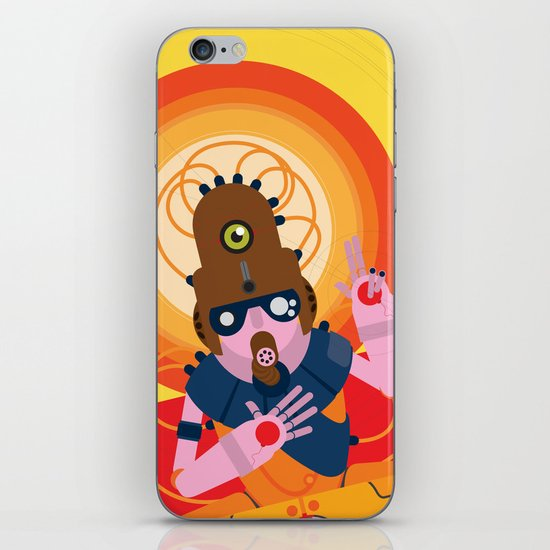 The inscrutable Lord ov Data iPhone & iPod Skin