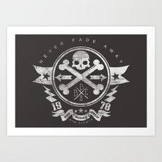 Bad Bones Crew 2 Art Print